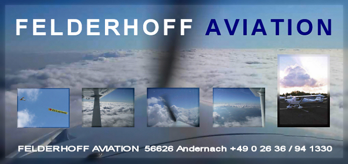 HEIRATSANTRAG Leverkusen FELDERHOFF AVIATION